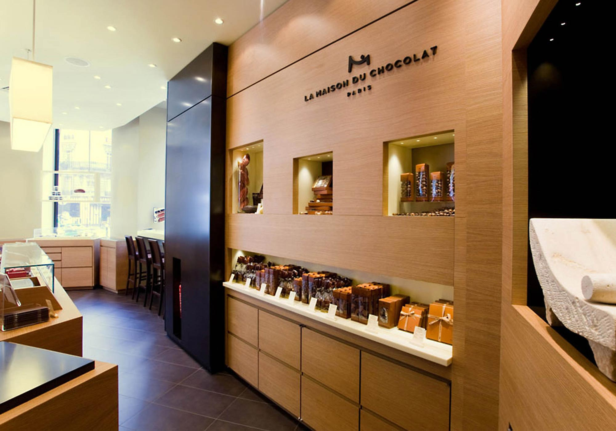 La maison du chocolat desdoigts associ s global for La maison du design